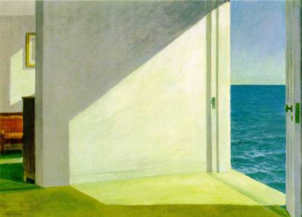 Edward-Hopper-Rooms-By-The-Sea-oil-on-canvas-painting